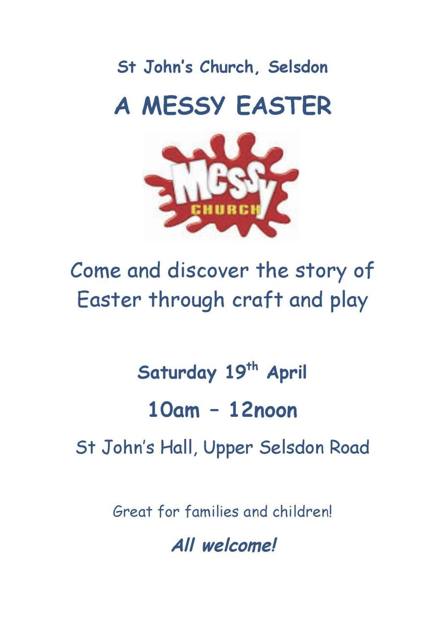 Poster - A MESSY EASTER 2014
