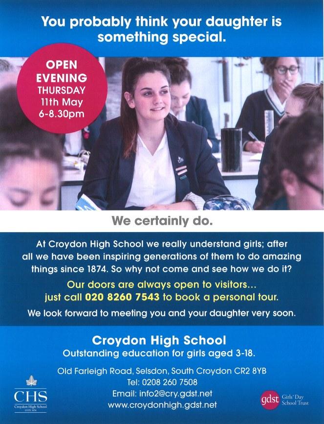 Croydon High School Open Evening 11th May 2017.jpg