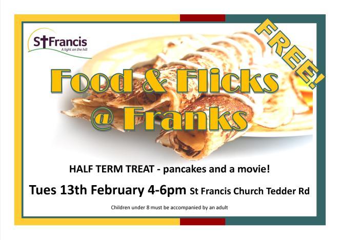 food and flicks at franks pancake