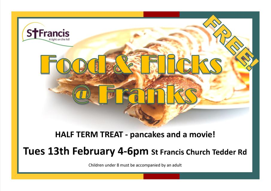 food and flicks at franks pancake