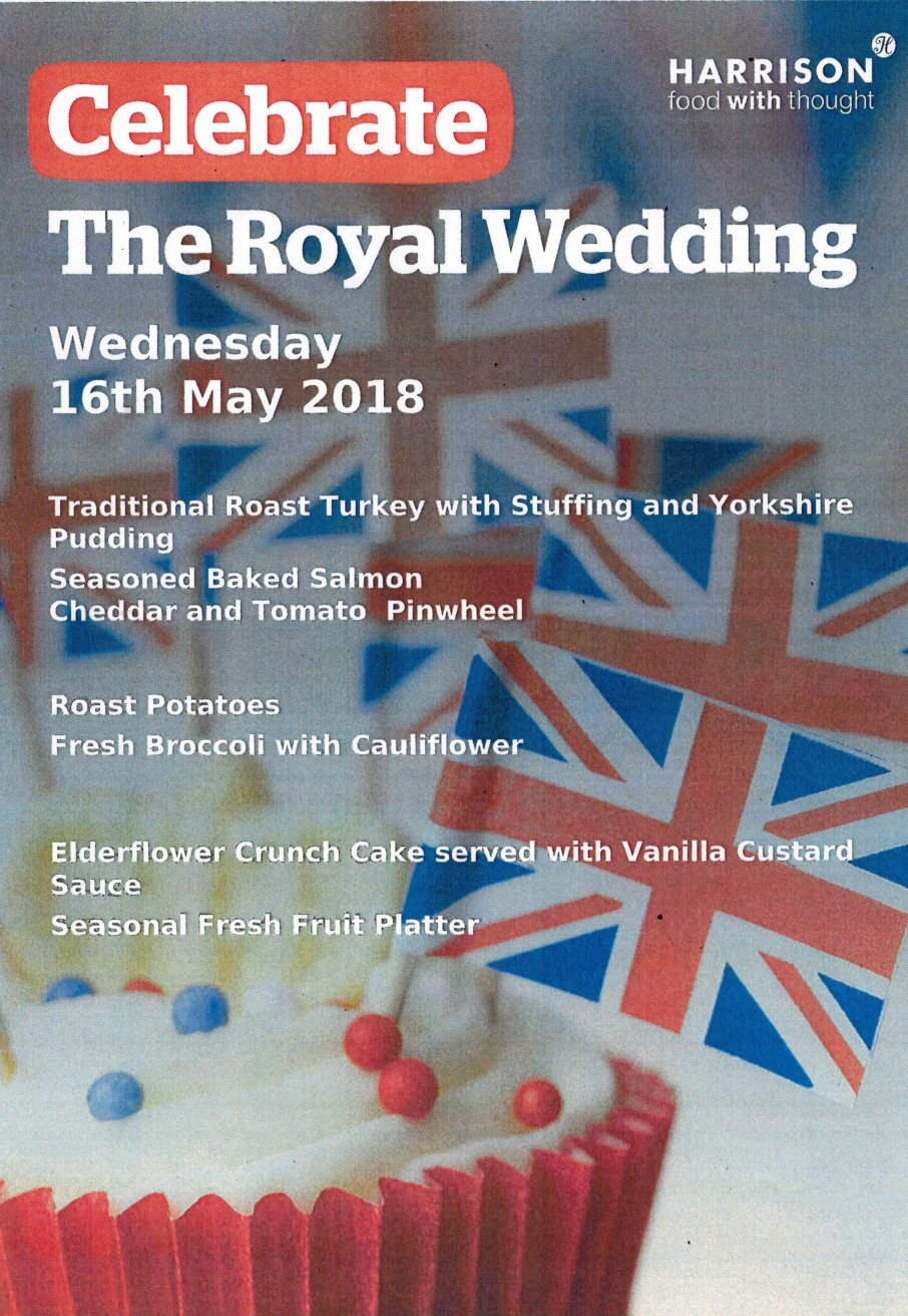 Royal Wedding Menu